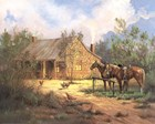 Western Home art print