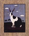 Folk Bunny art print