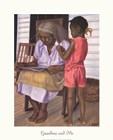 Grandma and Me by Gregory Myrick art print
