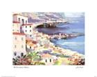 Mediterranean Harbor by La Foret art print