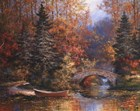 Woodland Splendor by T.C. Chiu art print