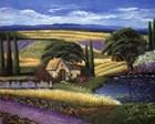 Vineyard Home art print