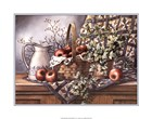 Quilt, Pitcher and Apples by T.C. Chiu art print