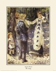 The Swing by Pierre-Auguste Renoir art print