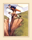 New Golfer by Charles Crombie art print