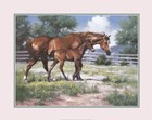 Horse and Colt by Jack Sorenson art print