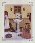 Her Bathroom by Kay Lamb Shannon art print