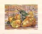 Fruit Stand Pears by Jerianne Van Dijk art print