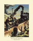 Ten Pound Hammer by Thomas Hart Benton art print