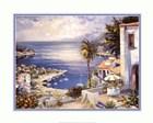 Mediterranean Sunrise by Raul Conte art print