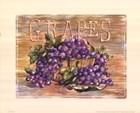 Fruit Stand Grapes by Jerianne Van Dijk art print