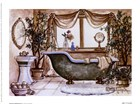 Vintage Bathtub lll by Janet Kruskamp art print