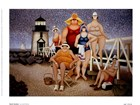 Beach Vacation by Lowell Herrero art print
