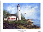 Sturgeon Point Light by Sherry Masters art print