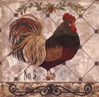 Rooster #5 by Jo Moulton art print